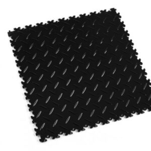 Light Black PVC plate up to 200 kg