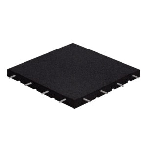Rubber Floor Tiles SBR Black