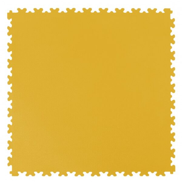 Płytka PVC 4mm yellow