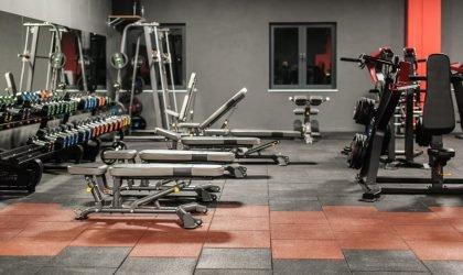 podłogi dla klubów fitness